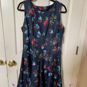 Dark navy blue dress